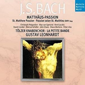 Matthew Passion / Gustav Leonhardt